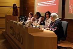 11/06/2019 - Cuatro investigadoras, tres de ellas africanas, debaten en Deusto sobre el papel de las mujeres en la transformación del mundo a través de la ciencia