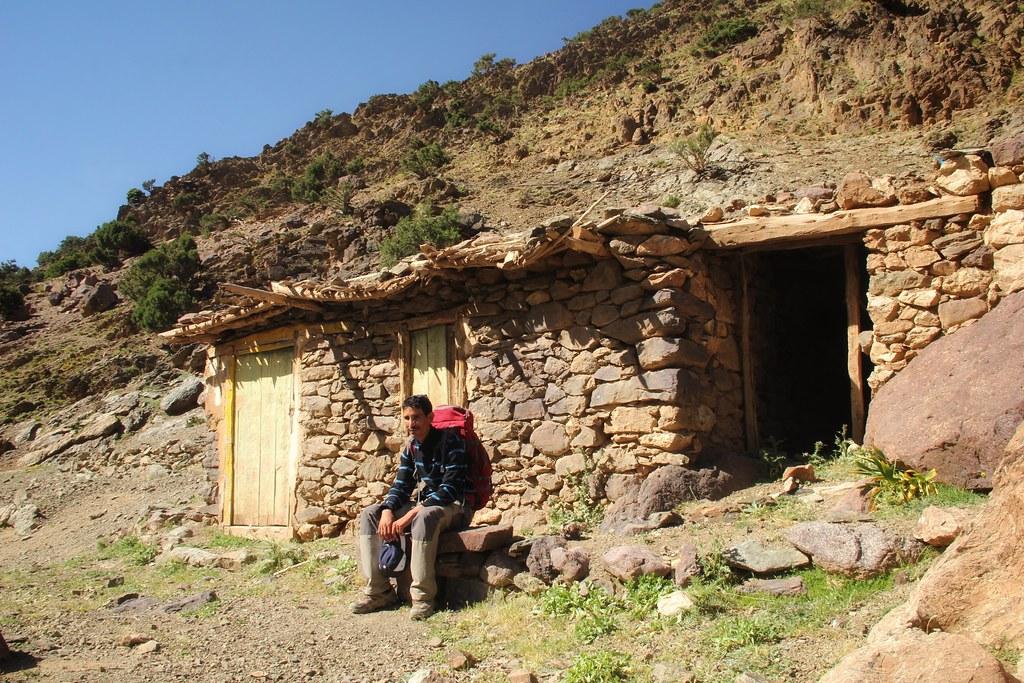 Our guide Mohamed, Tamsoult village