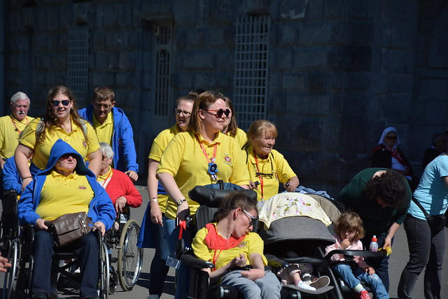 Day 5 Lourdes - Procession