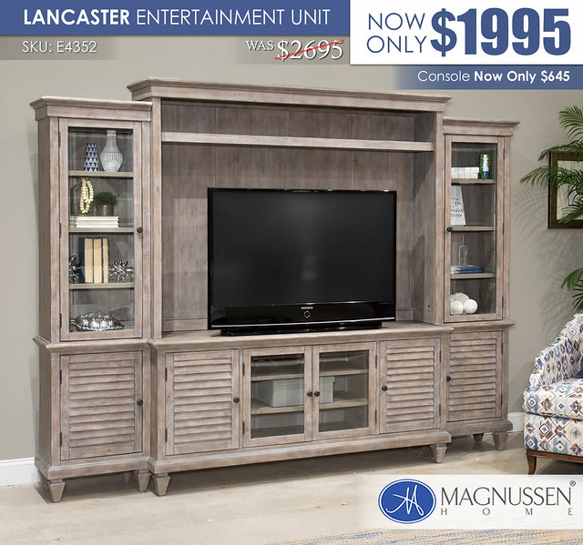 Lancaster Entertainment Unit_E4352