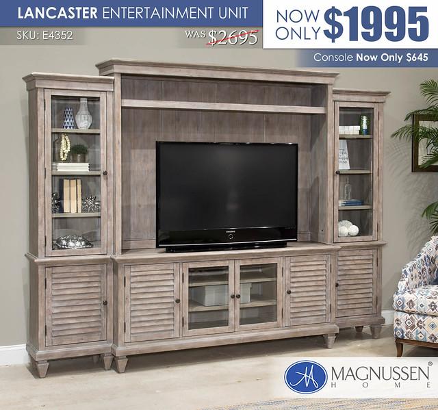 Lancaster Entertainment Unit_E4352