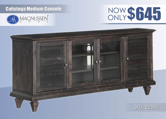 Calistoga Medium Console_E4352
