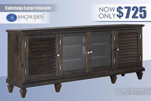 Calistoga Large Console_E2590