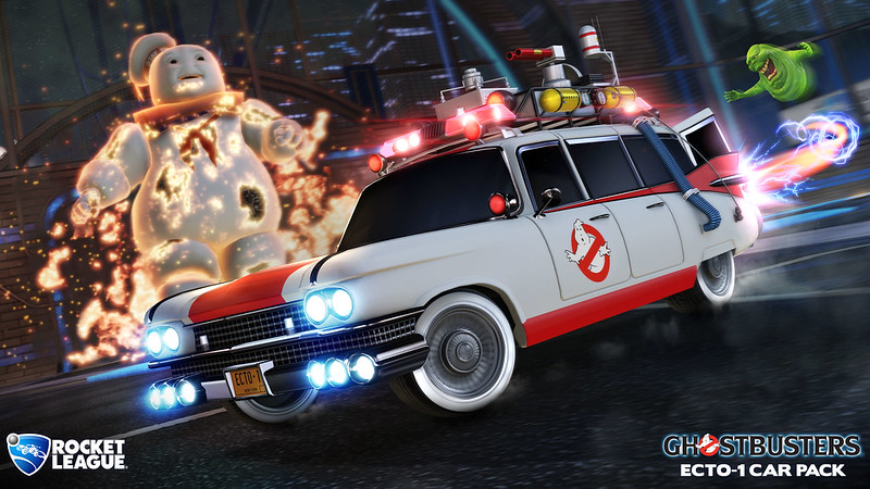 Rocket League - Ghostbusters Ecto-1 Car Pack