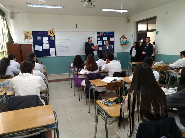 Linsem-Visita Seremi de educación región de Ñuble.