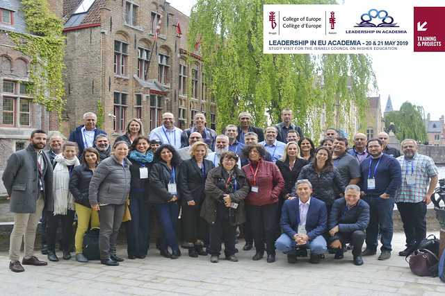 Training Programme on 'Leadership in EU Academia' for High-Level Israeli Academics and Administrators