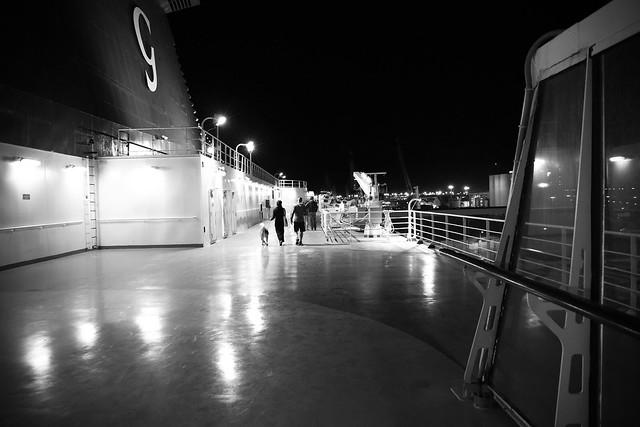 Night boarding-