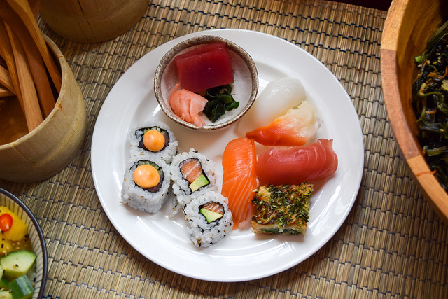 Kaia's Bottomless Sunday Sushi Brunch at The Ned, London