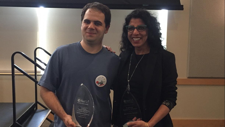 Tiago and his award