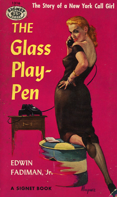 Signet Books 1316 - Edwin Fadiman, Jr - The Glass Playpen