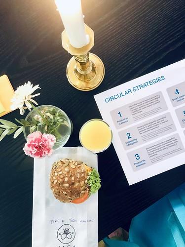 circular design thinking, valtech breakfast, stockholm, may 2019