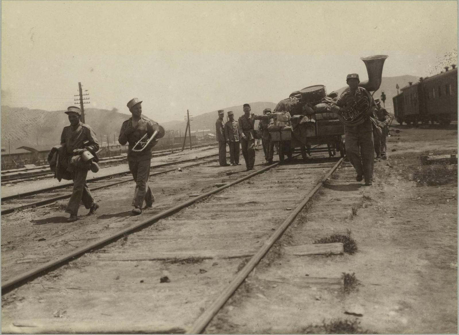 1918.  Первая речка