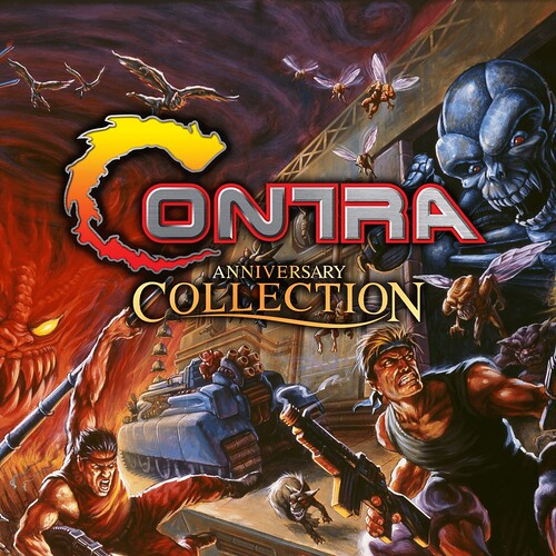 Thumbnail of 	Contra Anniversary Collection	 on PS4