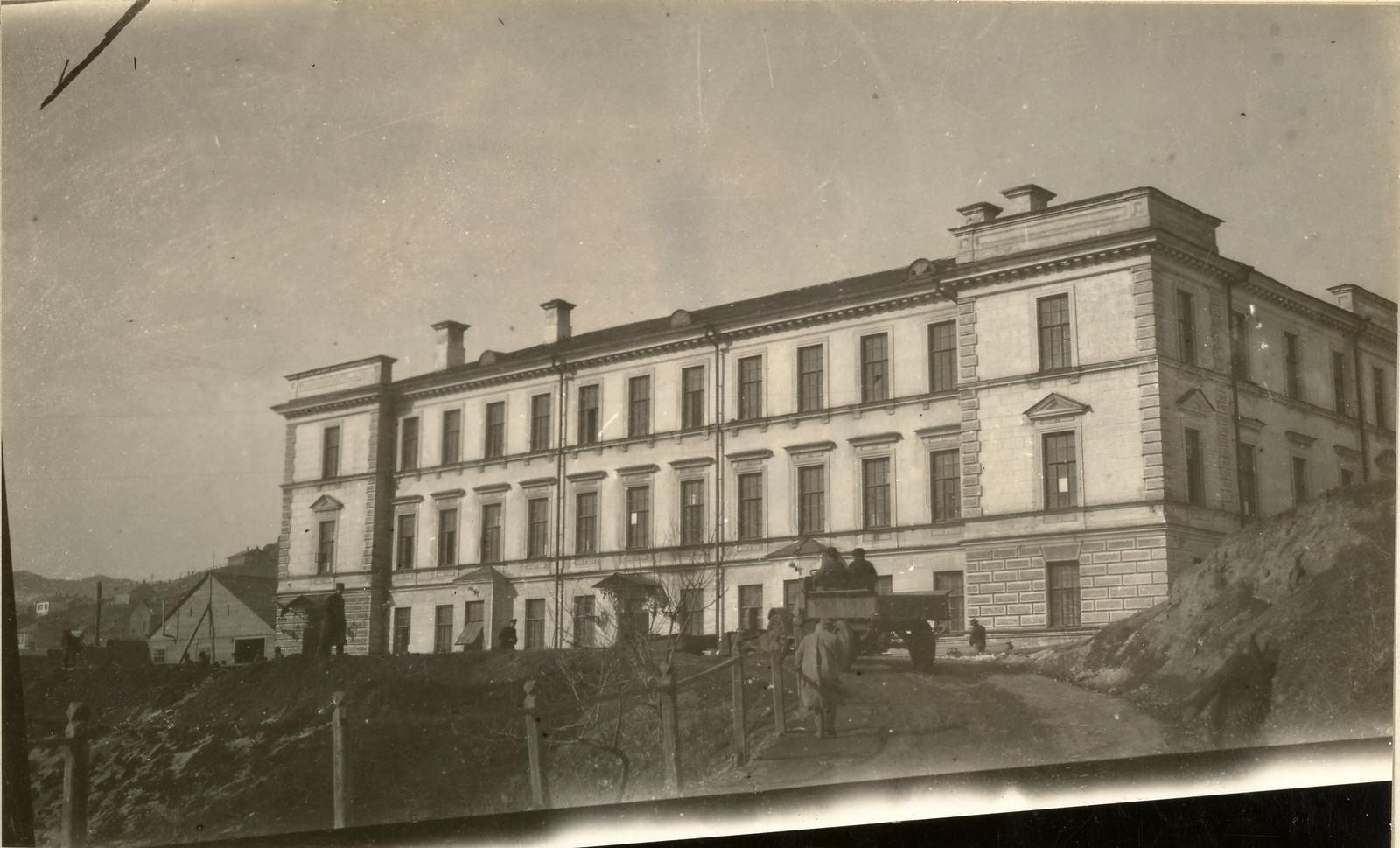 1918. Французская казарма