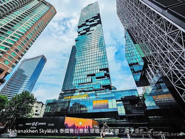 Mahanakhon SkyWalk 泰國曼谷景點 玻璃天空步道 3