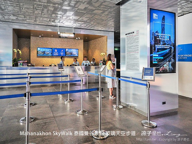 Mahanakhon SkyWalk 泰國曼谷景點 玻璃天空步道 6