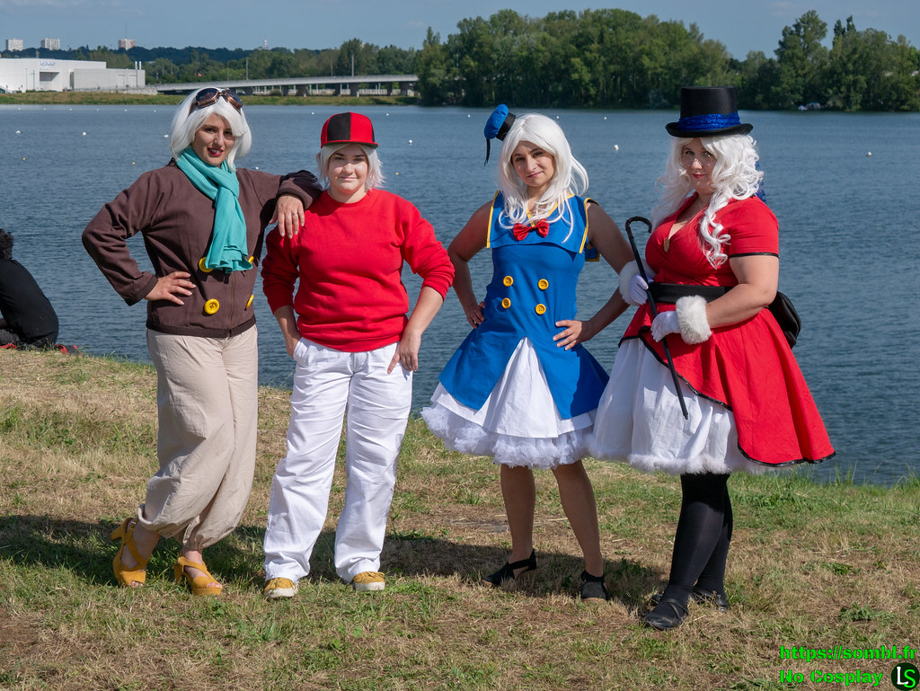 duck tales groupe cosplay