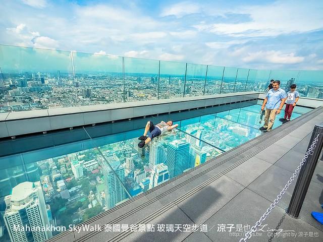 Mahanakhon SkyWalk 泰國曼谷景點 玻璃天空步道 27