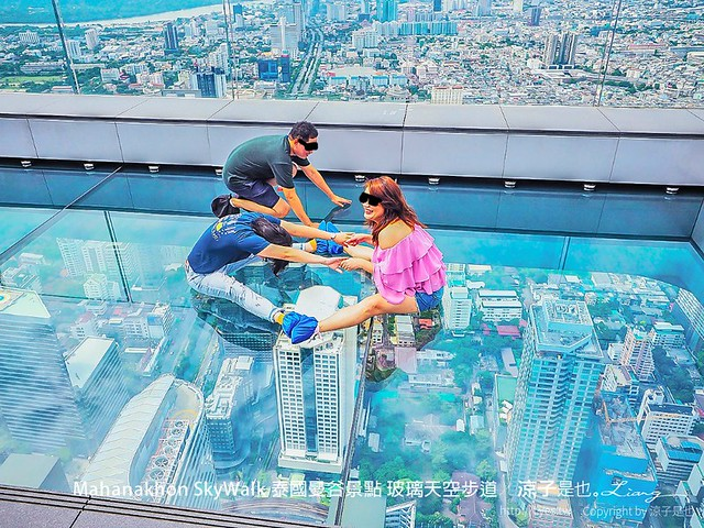 Mahanakhon SkyWalk 泰國曼谷景點 玻璃天空步道 30