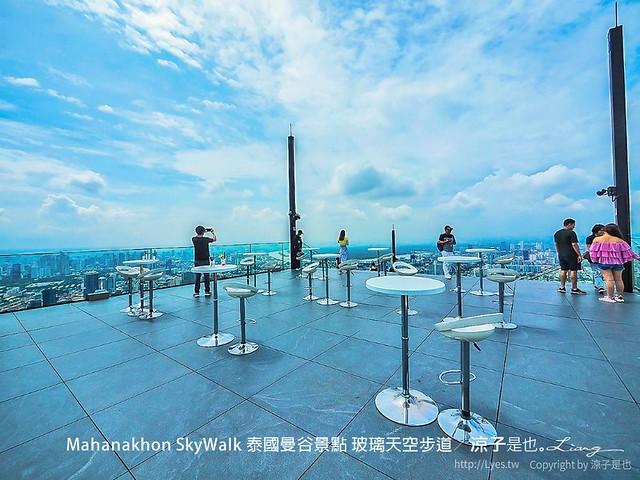 Mahanakhon SkyWalk 泰國曼谷景點 玻璃天空步道 33