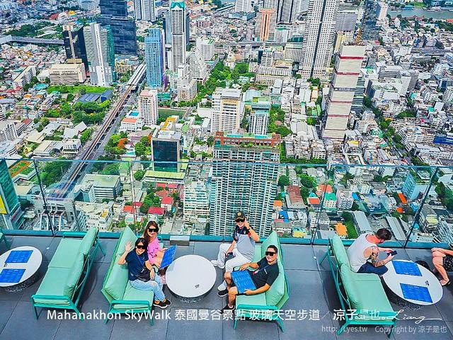 Mahanakhon SkyWalk 泰國曼谷景點 玻璃天空步道 36