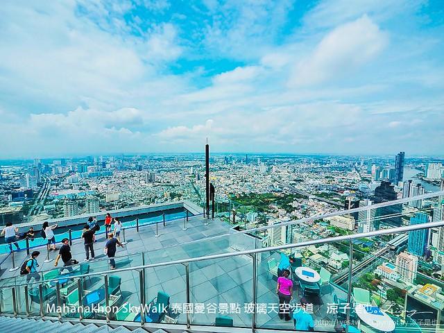 Mahanakhon SkyWalk 泰國曼谷景點 玻璃天空步道 38