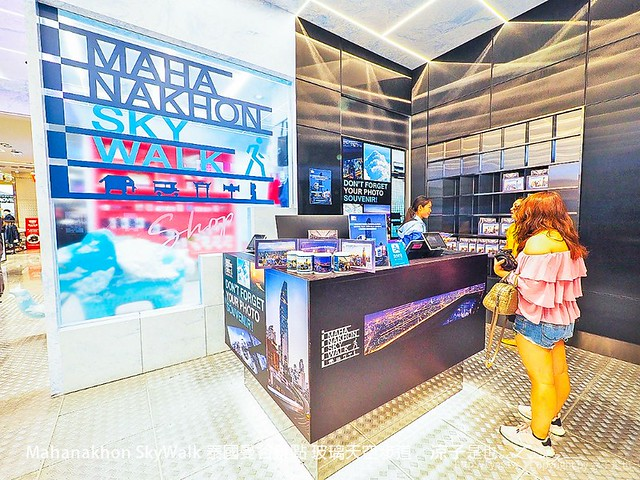 Mahanakhon SkyWalk 泰國曼谷景點 玻璃天空步道 48