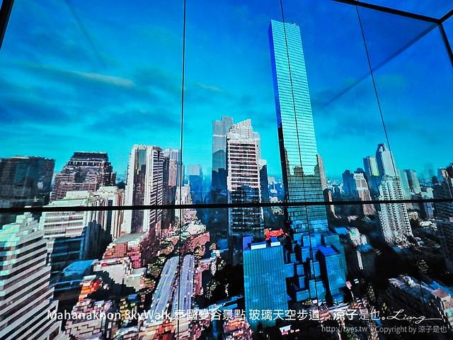 Mahanakhon SkyWalk 泰國曼谷景點 玻璃天空步道 13
