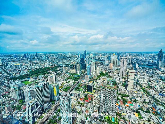 Mahanakhon SkyWalk 泰國曼谷景點 玻璃天空步道 14