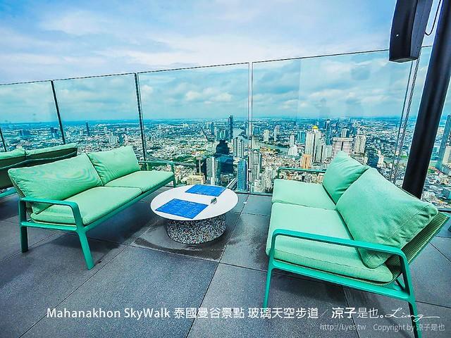 Mahanakhon SkyWalk 泰國曼谷景點 玻璃天空步道 23