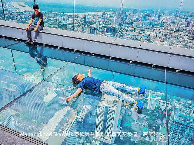 Mahanakhon SkyWalk 泰國曼谷景點 玻璃天空步道 29