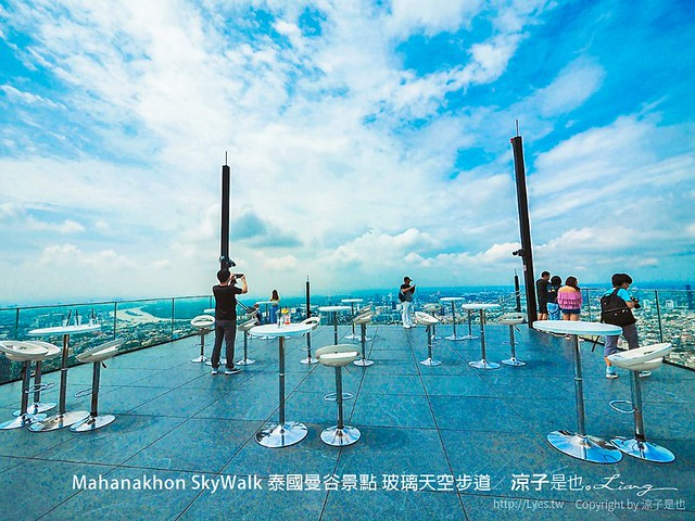 Mahanakhon SkyWalk 泰國曼谷景點 玻璃天空步道 34