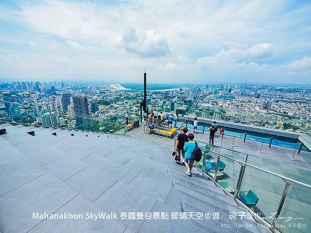 Mahanakhon SkyWalk 泰國曼谷景點 玻璃天空步道 37