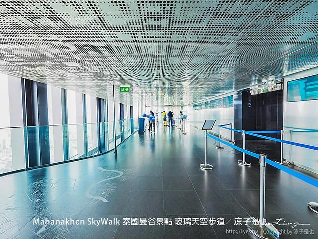 Mahanakhon SkyWalk 泰國曼谷景點 玻璃天空步道 44