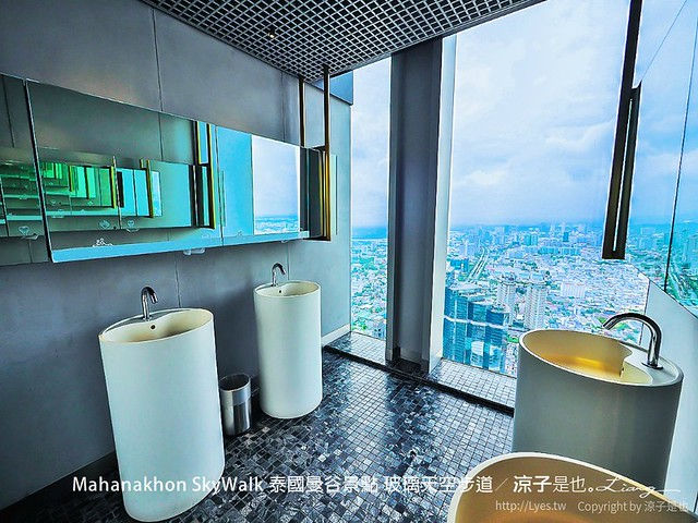 Mahanakhon SkyWalk 泰國曼谷景點 玻璃天空步道 45