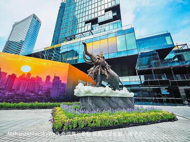 Mahanakhon SkyWalk 泰國曼谷景點 玻璃天空步道 4