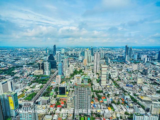 Mahanakhon SkyWalk 泰國曼谷景點 玻璃天空步道 17