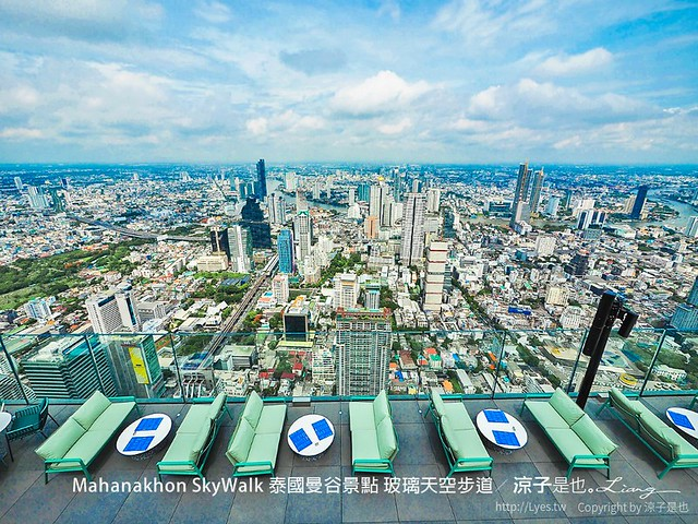 Mahanakhon SkyWalk 泰國曼谷景點 玻璃天空步道 35