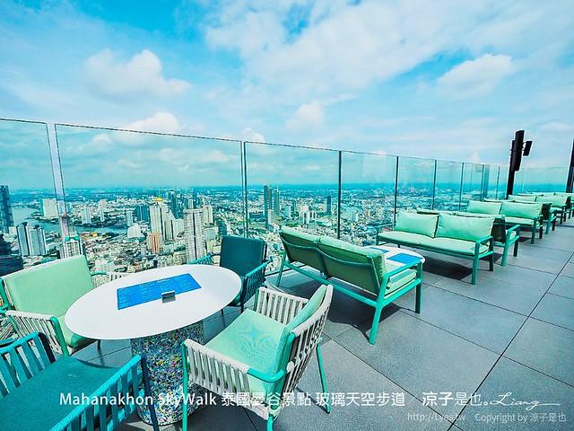 Mahanakhon SkyWalk 泰國曼谷景點 玻璃天空步道 40