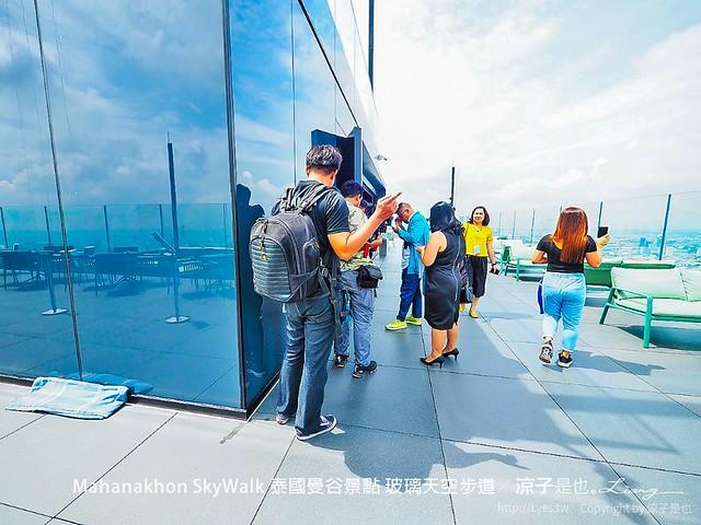 Mahanakhon SkyWalk 泰國曼谷景點 玻璃天空步道 41