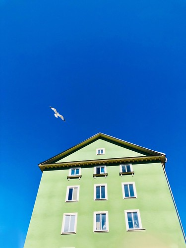 blue skies gröndal, stockholm, sweden, may 31, 2019