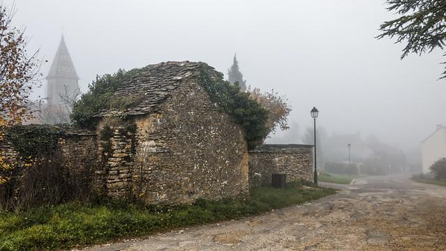 Brouillard en Bourgogne