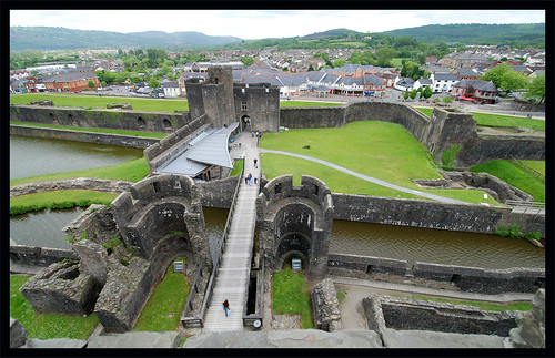 caerphillycastle castle wales tower fortress caerphilly