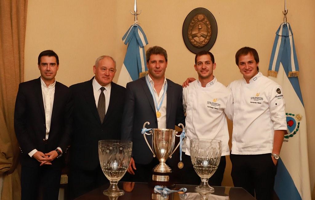 2019-06-11 PRENSA: Sergio Uñac recibió a los empresarios de la firma sanjuanina Portho Gelatto