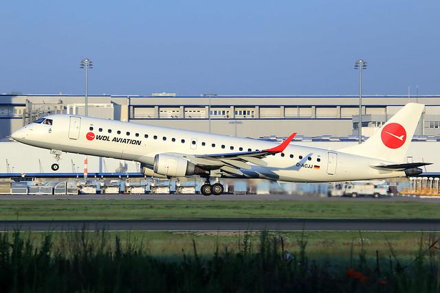 WDL Aviation  Embraer ERJ-190-100LR D-ACJJ