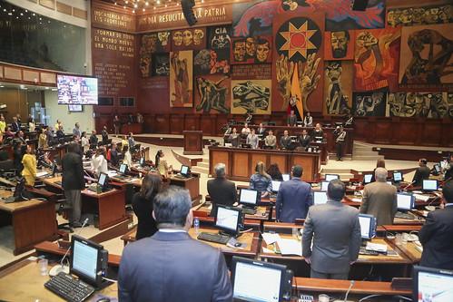 SESIÓN NO. 599 DEL PLENO DE LA ASAMBLEA NACIONAL, QUITO 11 DE JUNIO DEL 2019