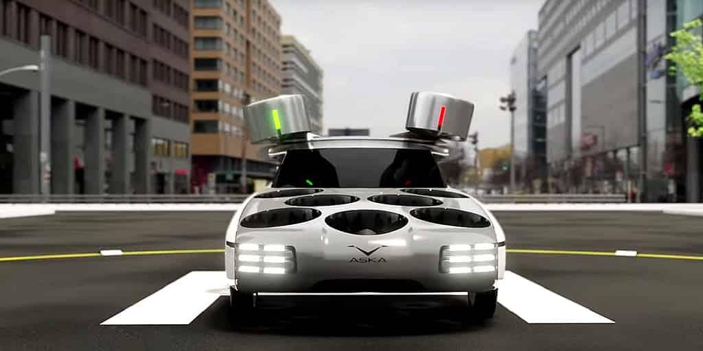Le concept de voiture volante Aska révélé en Israël