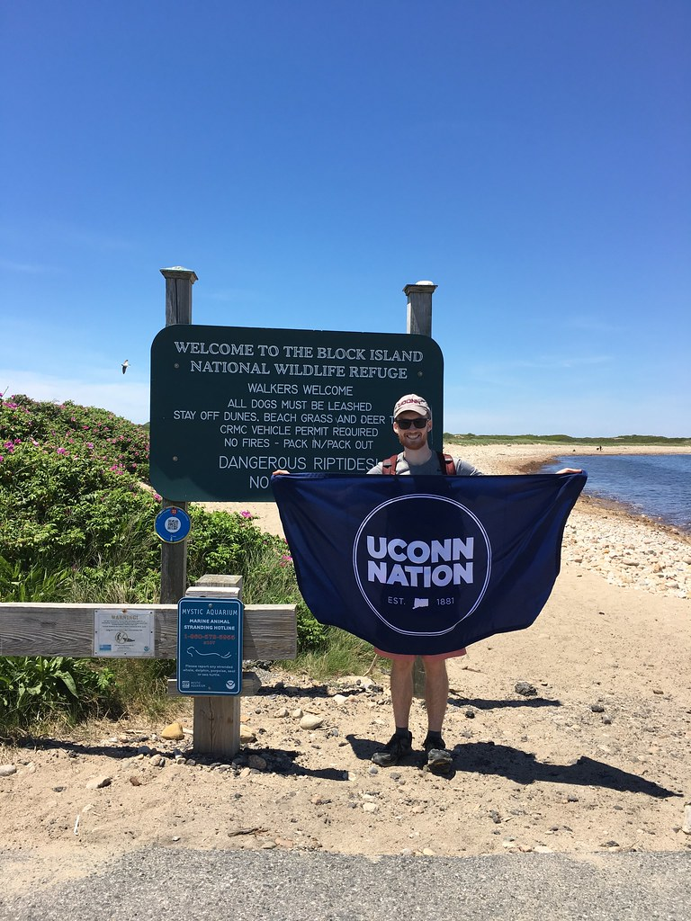 Travis Kornegay, a junior majoring in natural resources, is interning at the Nature Conservancy Block Island this summer as an education and stewardship assistant. The Nature Conservancy's Block Island program maintains over 2,000 acres of habitat, offers hands-on education programs and supports scientific research in the Great Salt Pond. During the summer, he will work closely with Block Island staff and will be responsible for a variety of stewardship activities in addition to public outreach. He will lead nature walks, monitor preserves, maintain walking trails, staff the visitor center and assist in biological monitoring and other scientific activities.