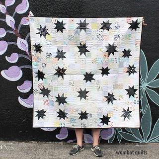 DGS wonky star quilt