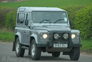Land Rover Defender DV62 OSJ